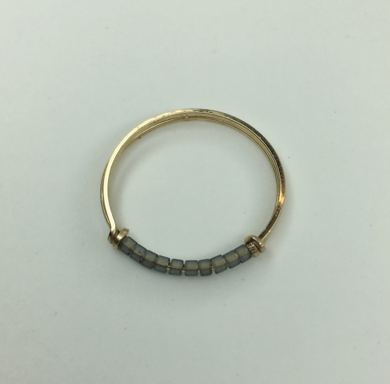 Gold Filled, Stackable ring, Greige tones, locally made, Sarah Briggs