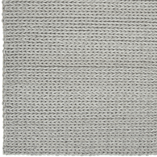knit gray grey rug