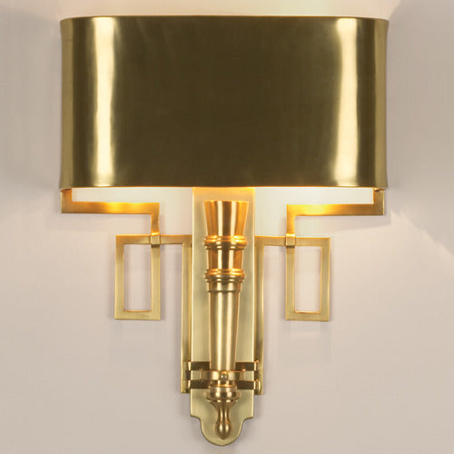 Torch Wall Sconce, Antique Brass