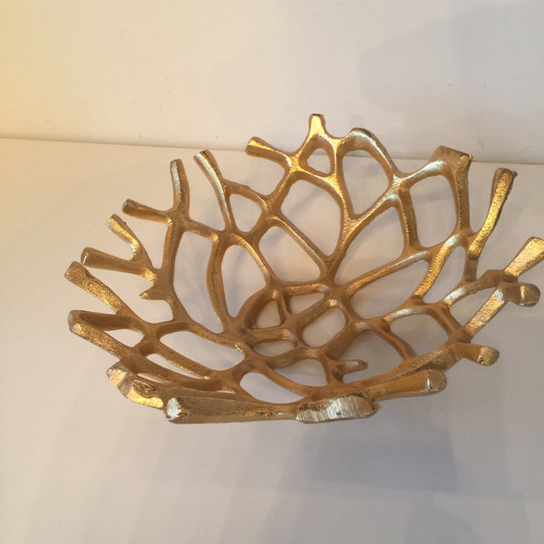 Twig Golden Bowl Small