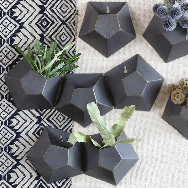 Hexagonal Wall Planter