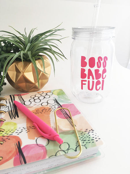 Boss Babe Fuel Water Bottle