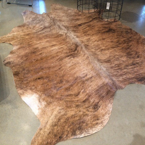 Brindle Cowhide