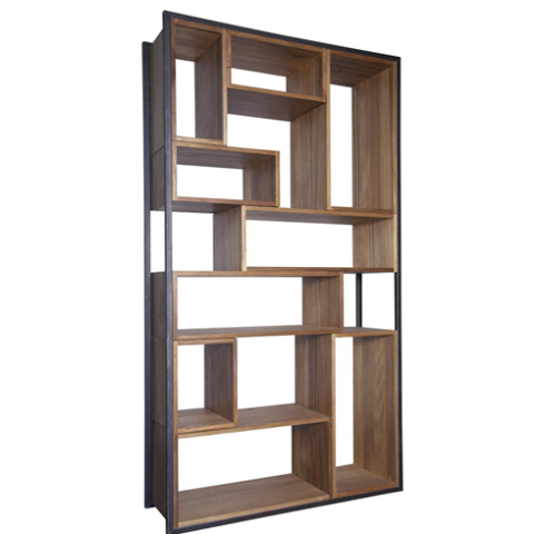 bookshelf, modern bookshelf, mid century modern, office furniture
