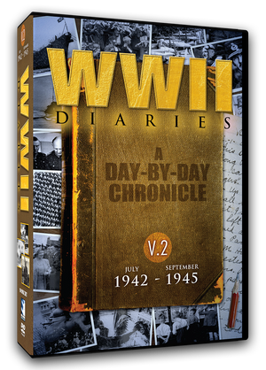 WWII Diaries: Volume 2 - July 1942 to September 1945