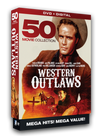 The wild west strikes back with a vengeance in this rough and tough 50 movie collection of action packed western films. Over 76 hours on DVD includes stars like: Clint Walker, Errol Flynn, Ronald Regan, Rayond Burr, Jane Russell, Marlon Brando, Chill Wills, Jack Palance, Denver Pyle and so many more.