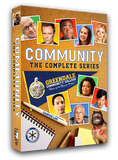 DVD boxed set. Community is a smart, exuberant comedy that was consistently ranked as one of the most inventive and original half hours on television. The complete series, starring Joel McHale, Donald Glover and Ken Jeong is now available on DVD and Blu-ray.