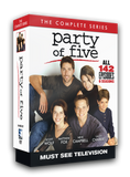 Complete series on DVD. 24 discs contain all 142 episodes throughout six seasons.