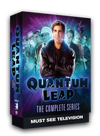 The complete series on DVD. 18 disc set with over 76 hours of sci-fi, time traveling action. Starring Scott Bakula and Dean Stockwell.