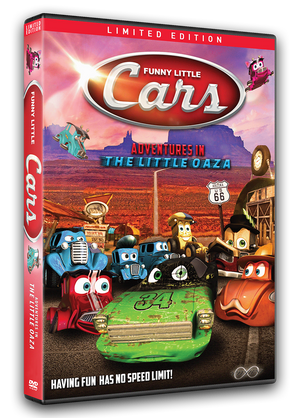 Funny Little Cars - Adventures in the Little Oaza