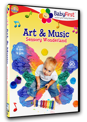 BabyFirst - Art & Music - Sensory Wonderland