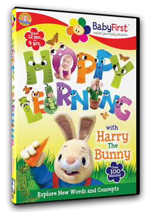 BabyFirst - Harry The Bunny: Hoppy Learning!