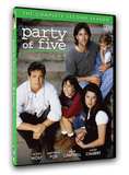 The complete second season of Party of Five contains all 22 episodes on DVD from Mill Creek Entertainment.