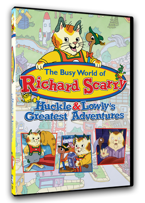 The Busy World of Richard Scarry - Huckle & Lowly's Greatest Adventures