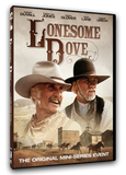 The original mini-series event! This classic western masterpiece is available on DVD and stars Robert Duvall,, Tommy Lee Joney, Danny Glover, Steve Buscemi, D.B. Sweeney and Chris Cooper.