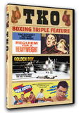 TKO Boxing Triple Feature - Requiem for a Heavyweight/Golden Boy/The Joe Louis Story