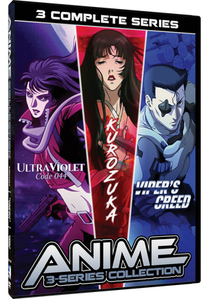 Anime 3 Series Collection