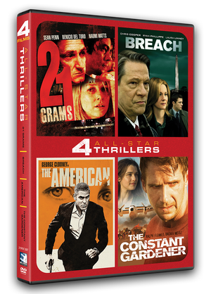 All-Star Thrillers - 4 Movie Set