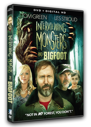 Interviewing Monsters and Bigfoot - DVD + Digital