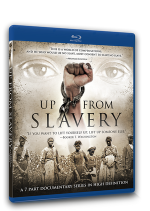 Up From Slavery - (7-part documentary on the history of slavery in America on Blu-ray)