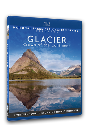 National Parks Exploration Series - Glacier National Park - Crown of the Continent
