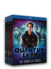 The complete series on Blu-ray. 18 disc set with over 76 hours of sci-fi, time traveling action. Starring Scott Bakula and Dean Stockwell.