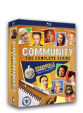 Blu-ray boxed set. Community is a smart, exuberant comedy that was consistently ranked as one of the most inventive and original half hours on television. The complete series, starring Joel McHale, Donald Glover and Ken Jeong is now available on DVD and Blu-ray.