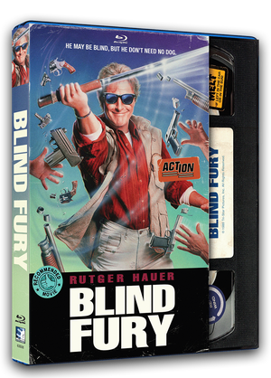 Blind Fury - Retro VHS Blu-ray