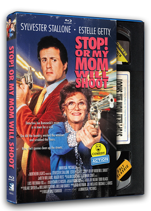 Stop! Or My Mom Will Shoot – Retro VHS Blu-ray