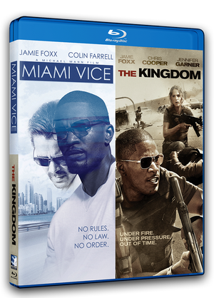 Miami Vice & The Kingdom - Double Feature - Blu-ray