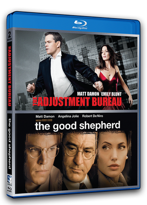 The Adjustment Bureau & The Good Shepherd - Double Feature - Blu-ray