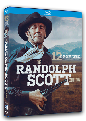 Randolph Scott Western Collection - 12 Classic Westerns - Blu-ray