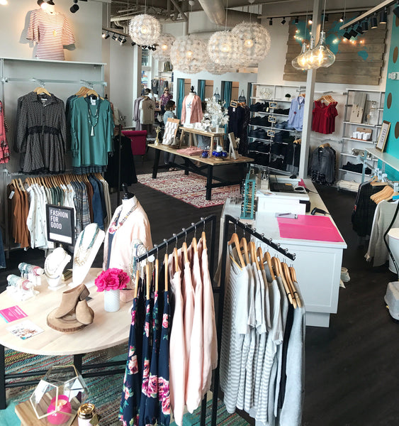 Purpose Boutique Tacoma Ruston Interior