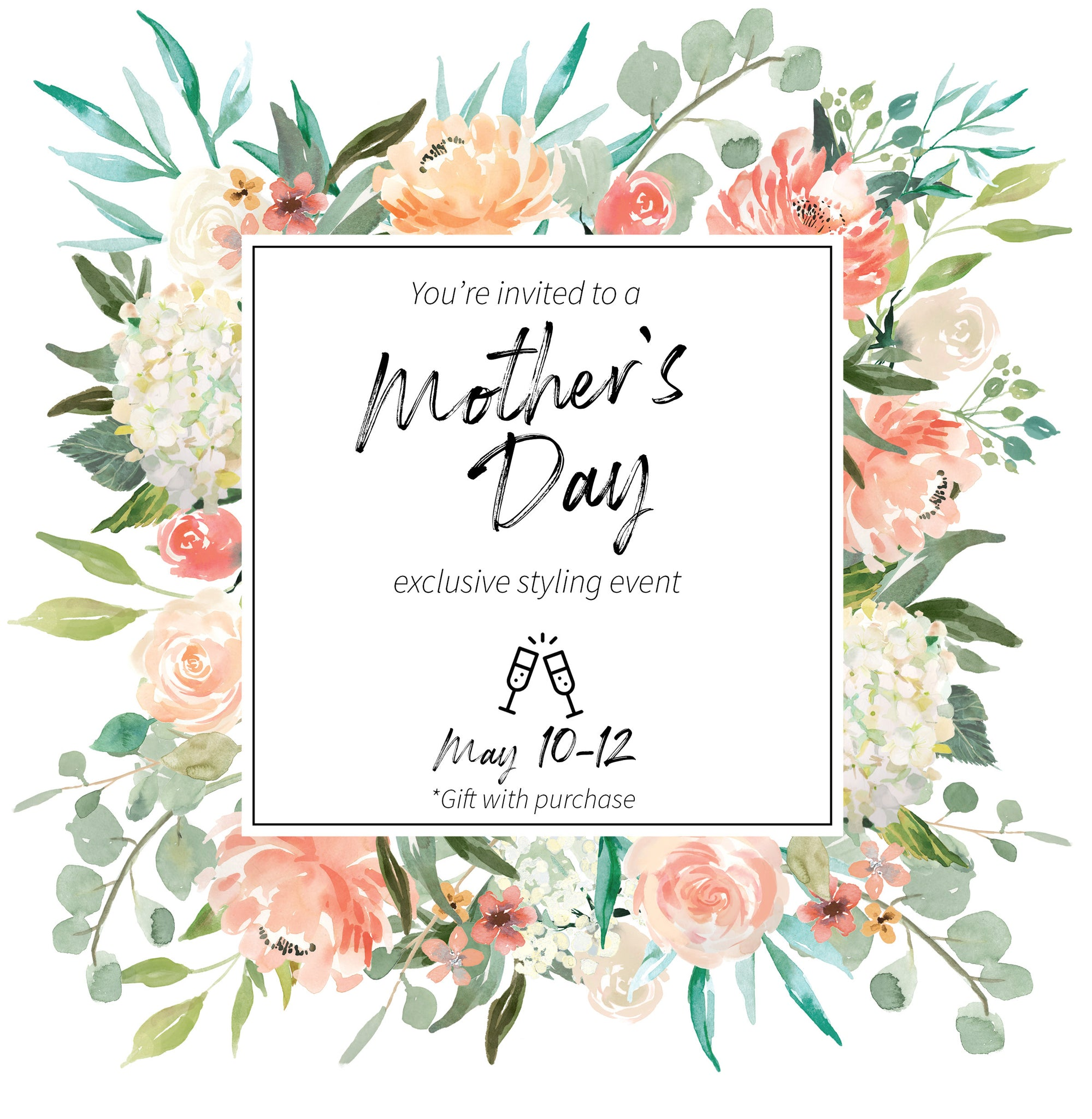 Mother's Day 2019 at Purpose Boutique