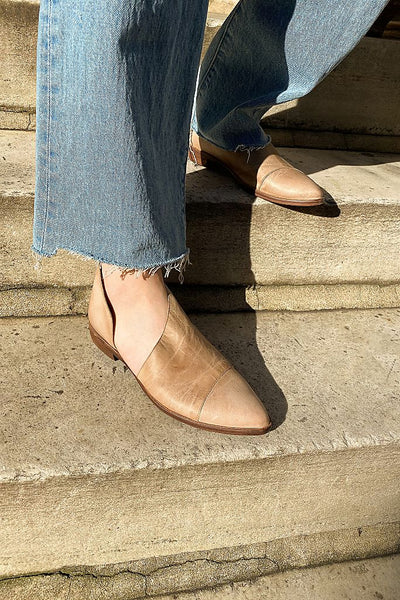 Free People Brown Flat Royale