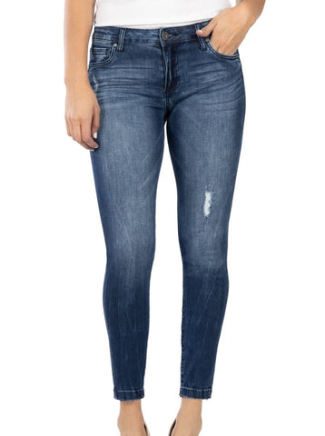 Petite Donna Ankle Daydream High Rise Skinny