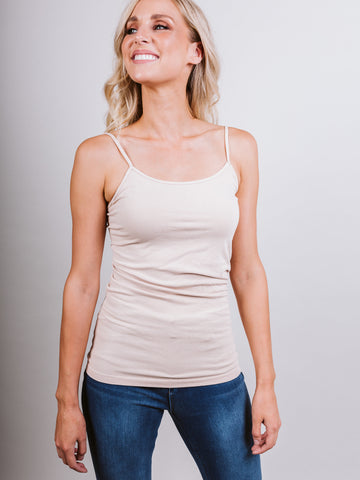 Basic Camisole - Latte