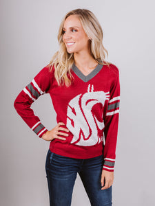 WSU Red Sweater