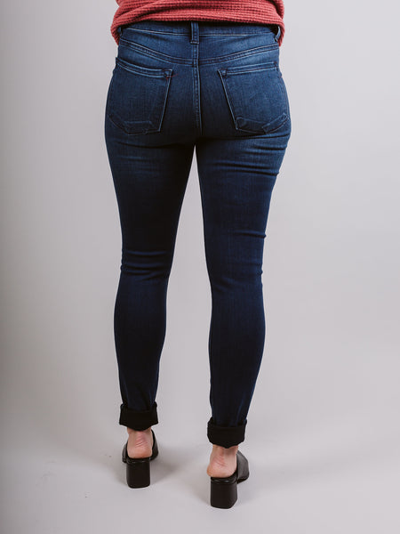 Blue Island High Rise Front Crease Line Skinny