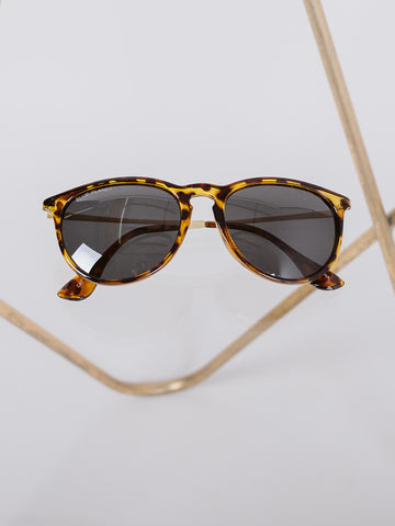 Honey Tortoise & Matte Gold Kelsea Glasses
