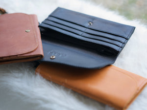 Cognac Mare Phone Wallet