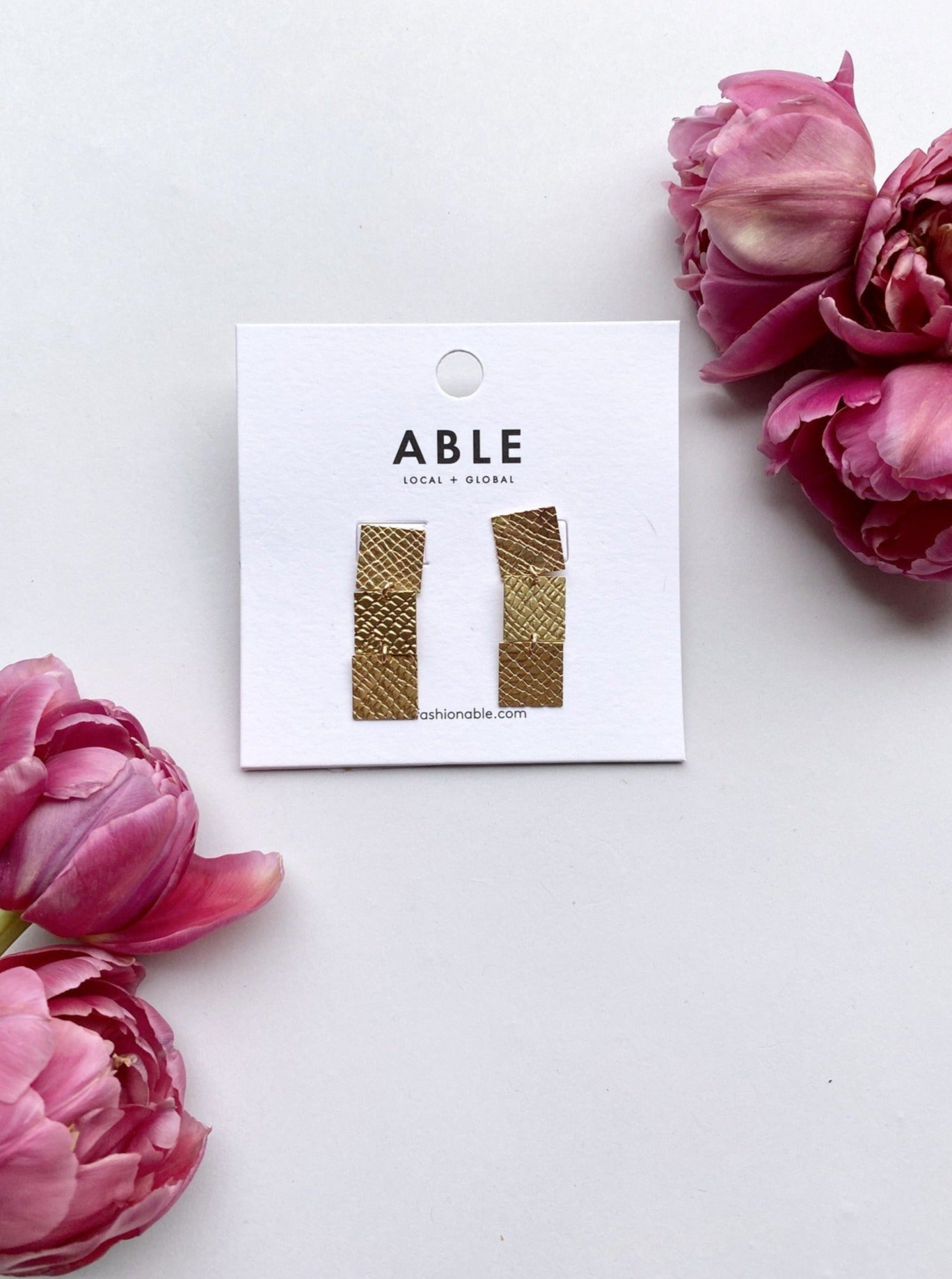 Brass Supreme Earrings