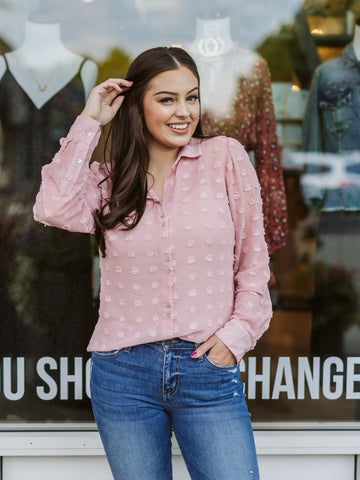 Rose Billa Button Down Shirt