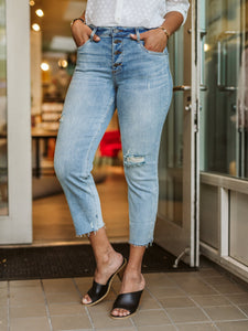 Rachel Mom High Rise Denim