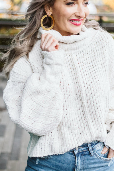 Free People Vanilla Bean Be Yours Pullover