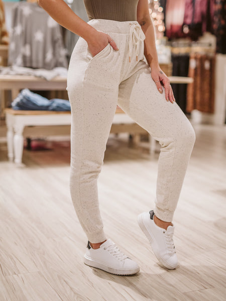 Natural Ambre Speckled Pant