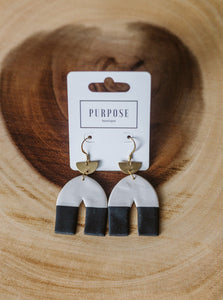 Alexandra Arch Earrings