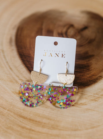 Lafayette Glitter Earrings