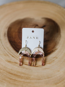 Pink Angelica Earrings