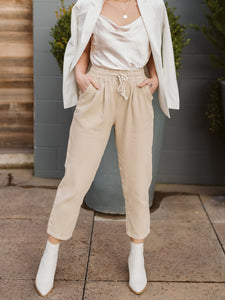Khaki Summer Pants